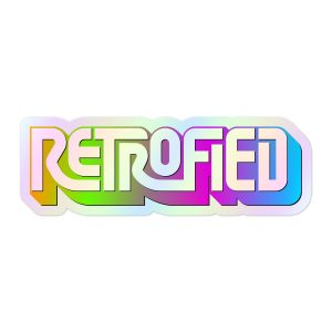 Retrofied Sticker