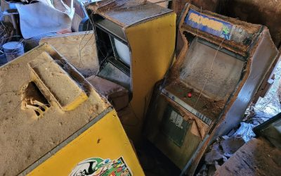 Out of Order: An Abandoned Arcade Warehouse