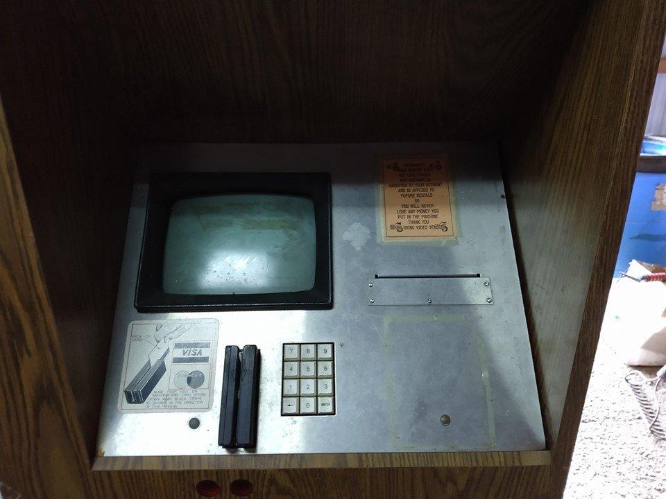 Video Vendor control screen