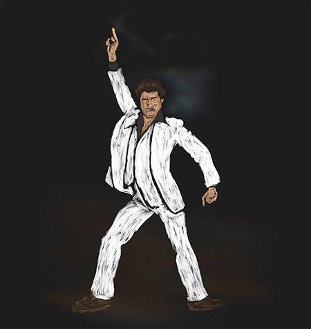 Saturday Night Fever - Travolta Pose
