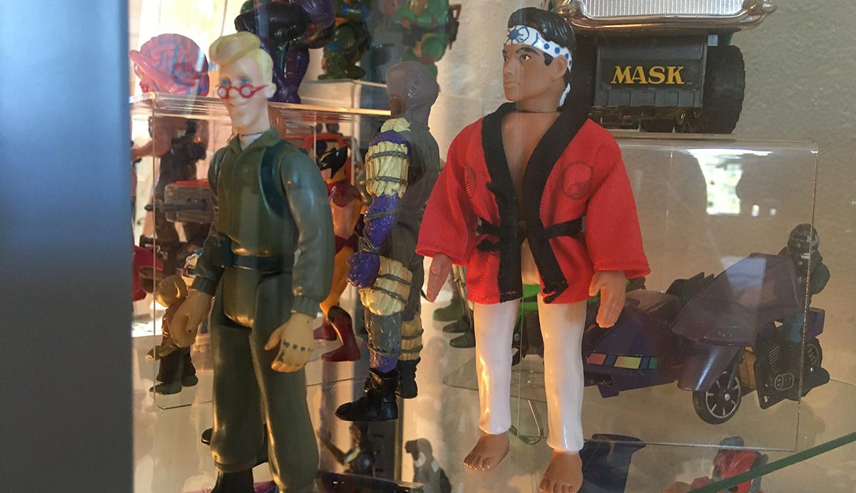 Remco Karate Kid Action Figure