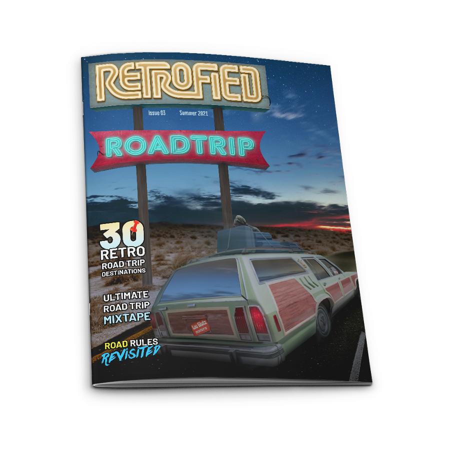 Retrofied - Issue 2 Cover - free 12-page preview